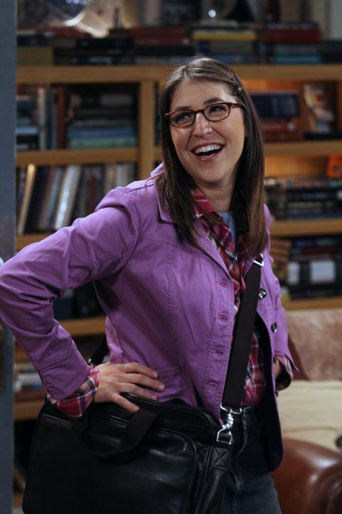 Ahnt nicht, dass Sheldon sie loswerden möchte: Amy (Mayim Bialik) ... - Bildquelle: Warner Brothers
