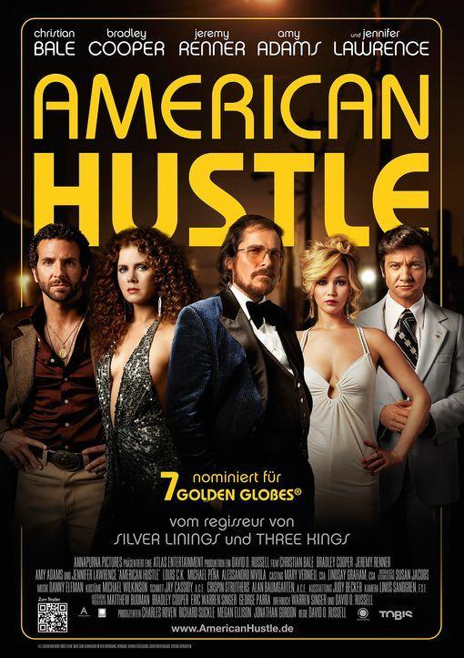 American-Hustle-Plakat-Tobis - Bildquelle: Tobis