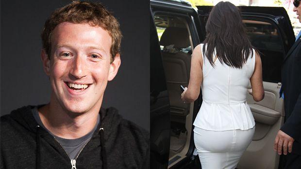 TOP Mark Zuckerberg - FLOP Kim Kardashian - Bildquelle: AFP / revolutionpix-WENN.com