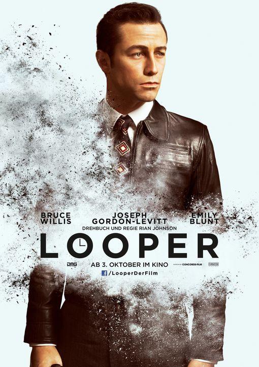 Looper - Plakatmotiv - Bildquelle: 2012 Concorde Filmverleih GmbH