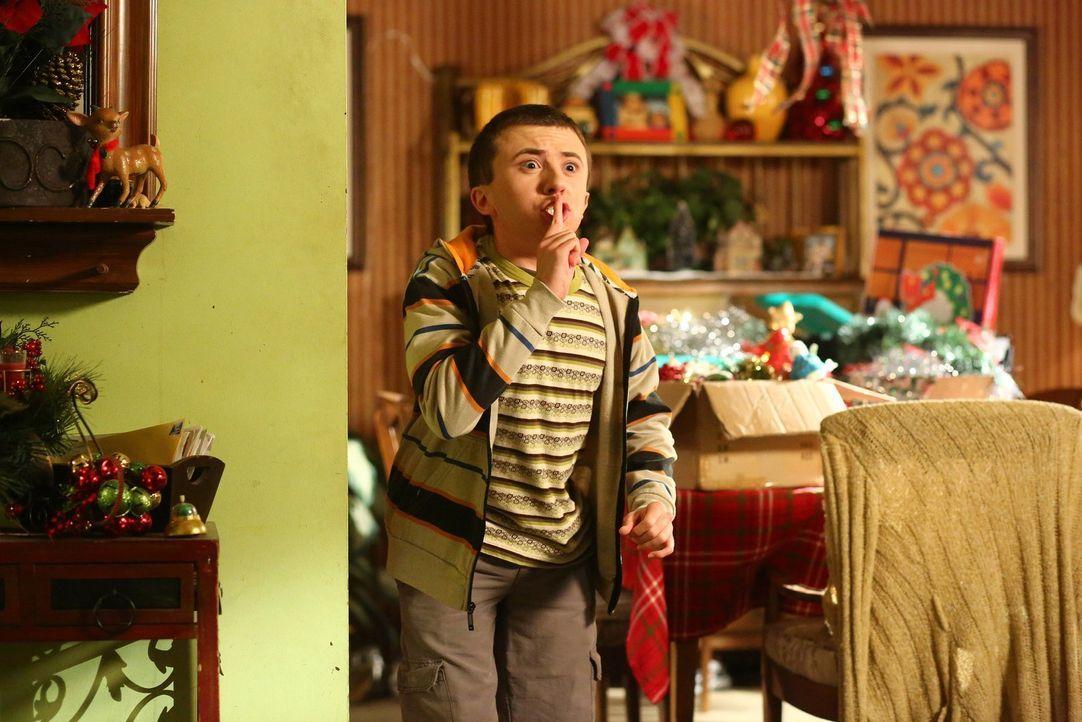 Verzweifelt beinahe an seiner Aufgabe als Babysitter: Brick (Atticus Shaffer) ... - Bildquelle: Warner Bros.