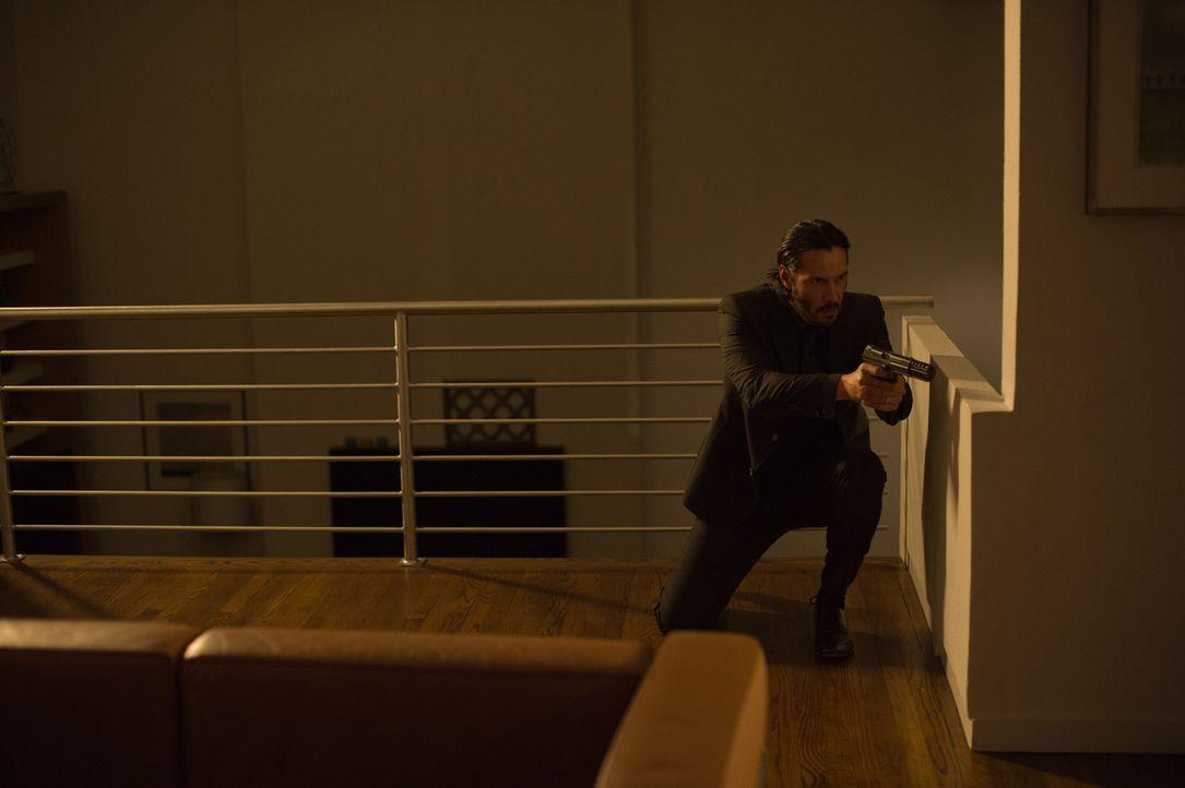 John Wick mit Keanu Reeves  - Bildquelle: Studiocanal