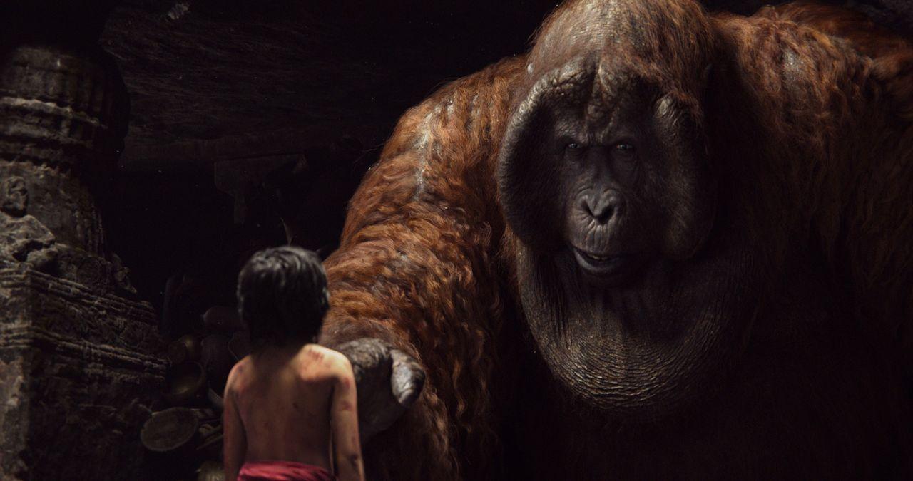 Kann Mogli (Neel Sethi) die Bedingungen von King Louie erfüllen? - Bildquelle: Disney Enterprises, Inc. All Rights Reserved.
