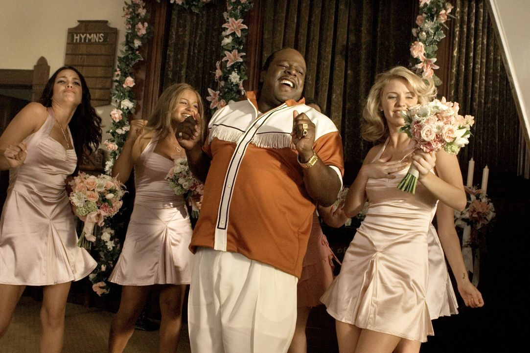 "Percy Stevens (Cedric ""The Entertainer"") hat einen Heidenspaß mit den attraktiven Mädchen ... - Bildquelle: Sony Pictures Entertainment"