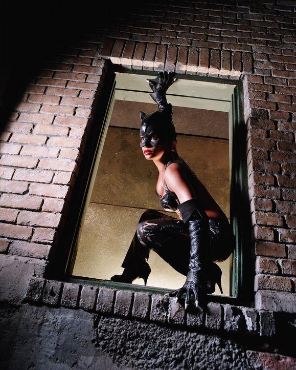 Nach der Wiederbelebung durch eine alte ägyptische Tempelkatze, macht sich Patience Price alias Catwoman (Halle Berry) auf die Suche nach ihrem Mörd... - Bildquelle: Warner Bros. Television