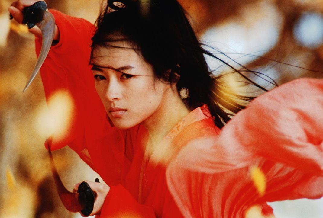 Moon (Ziyi Zhang) glaubt an die ganz große Liebe ... - Bildquelle: Constantin Film