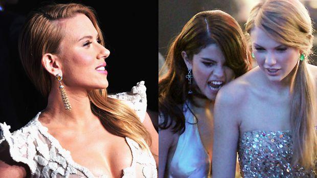 Scarlett-Johansson-14-03-13-Selena-Gomez-Taylor-Swift-11-11-20-getty-AFP - Bildquelle: getty-AFP