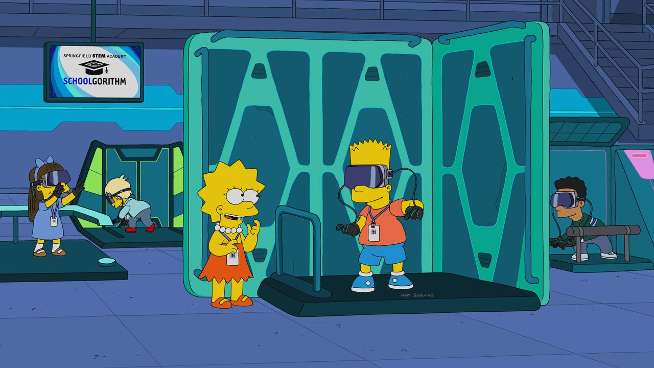 Lisa (l.); Bart (r.) - Bildquelle: 2019-2020 Twentieth Century Fox Film Corporation.  All rights reserved.