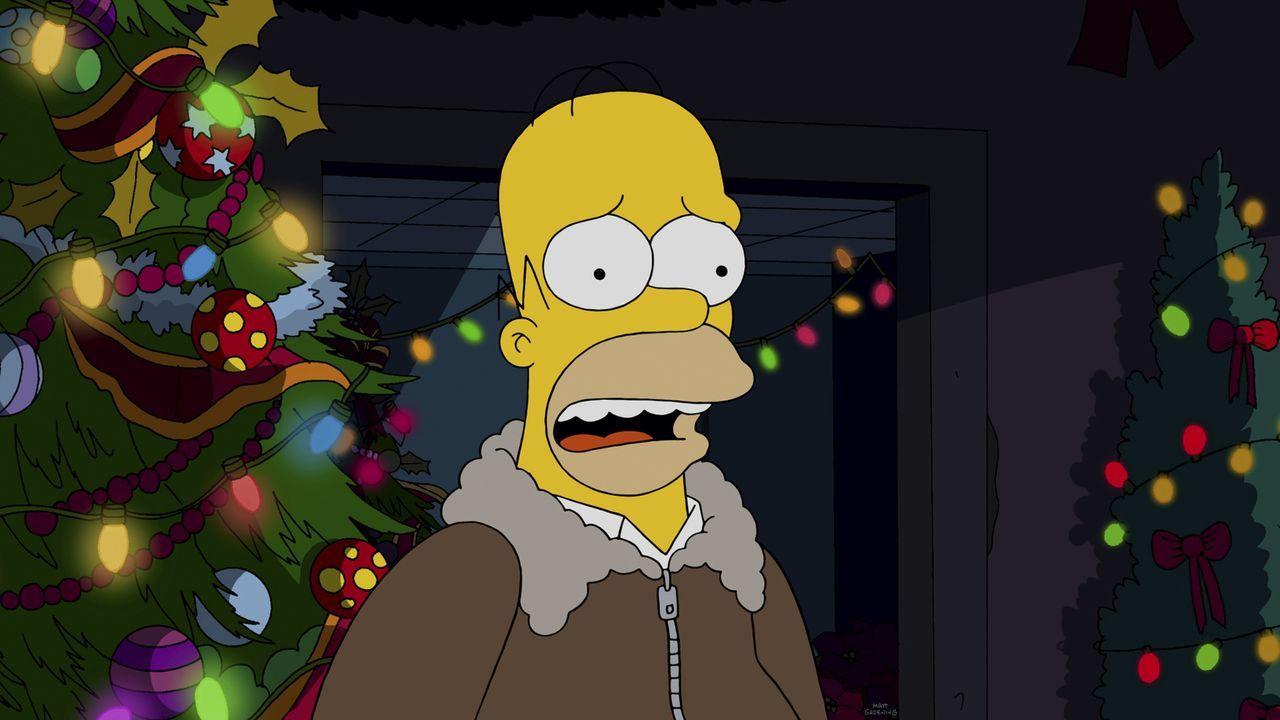 Schaffen es Marge und Homer am Ende doch, gemeinsam Weihnachten zu verbringen? - Bildquelle: 2014 Twentieth Century Fox Film Corporation. All rights reserved.