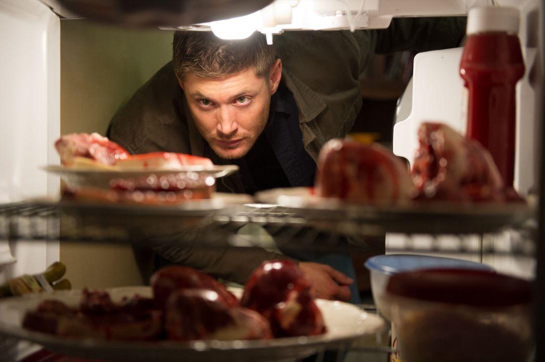 Eigentlich wollte sich Dean (Jensen Ackles) nur nach dem Wohl eines alten Freundes erkundigen, doch dann machen er und Sam eine erschreckende Entdec... - Bildquelle: 2013 Warner Brothers
