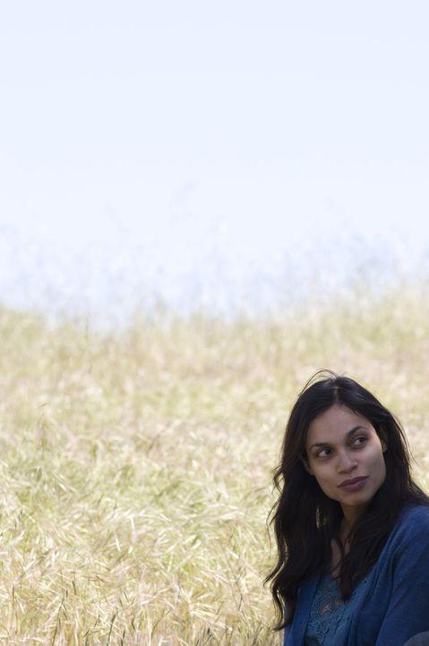 Weckt in Ben verloren geglaubte Gefühle: Emily (Rosario Dawson) ... - Bildquelle: 2008 Columbia Pictures Industries, Inc. and Beverly Blvd LLC. All Rights Reserved.