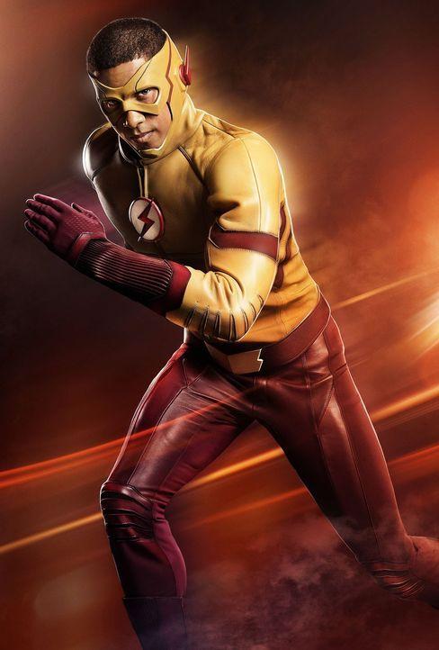 (3. Staffel) - Kid Flash (Keiynan Lonsdale) versucht, Central City in der von Barry veränderten Gegenwart zu beschützen. Mit Erfolg? - Bildquelle: 2016 Warner Bros.