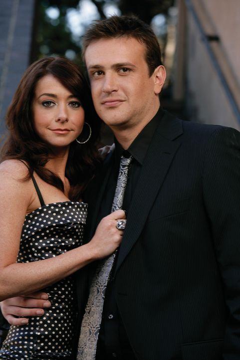 (3. Staffel) - Erleben gemeinsam verrückte Zeiten: Marshall (Jason Segel, r.) und Lily (Alyson Hannigan, l.) ... - Bildquelle: 20th Century Fox International Television