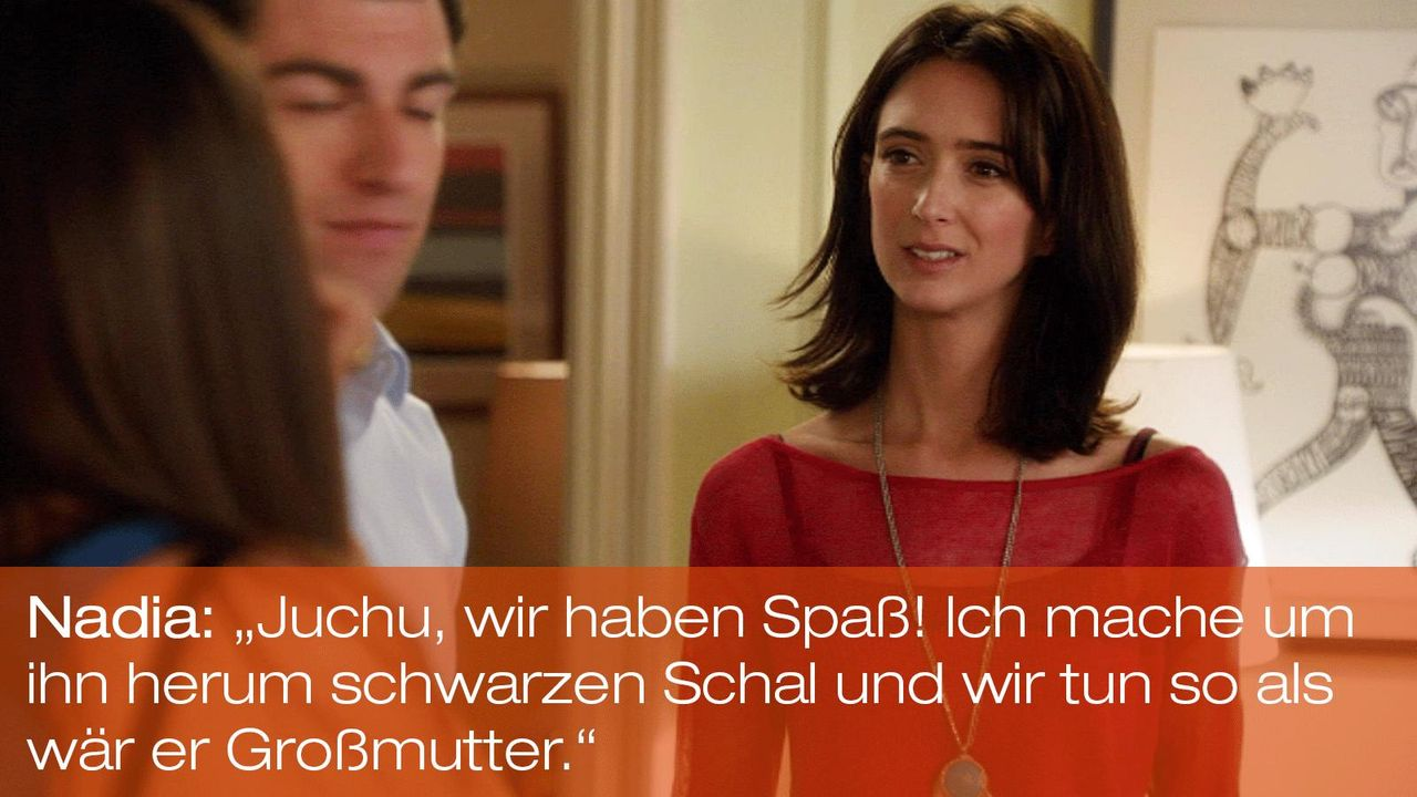 New Girl - Zitate - Staffel 1 Folge 22 - Nadia (Rebecca Reid) - Bildquelle: 20th Century Fox