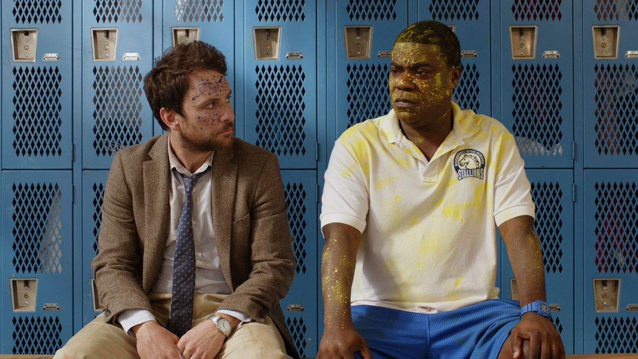 Andy Campbell (Charlie Day, l.); Coach Crawford (Tracy Morgan, r.) - Bildquelle: 2017 Warner Bros. Entertainment Inc., Village Roadshow Films North America Inc. and RatPac-Dune Entertainment LLC. All rights reserved.
