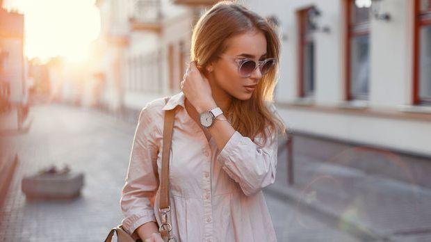 Kupferblond steht vor allem hellen Hauttypen besonders gut – wie ihr die Haar...