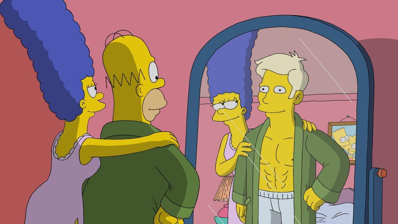 Marge (l.); Homer (r.) - Bildquelle: 2019-2020 Twentieth Century Fox Film Corporation.  All rights reserved.