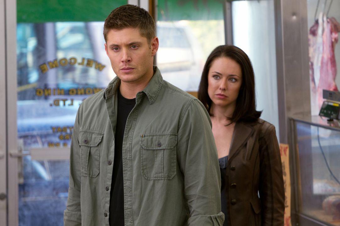 Als Dean (Jensen Ackles, l.) auf seine alte Bekannte Tessa (Lindsey McKeon, r.) trifft, hofft er, seinen sehnlichsten Wunsch endlich erfüllen zu kön... - Bildquelle: Warner Bros. Television