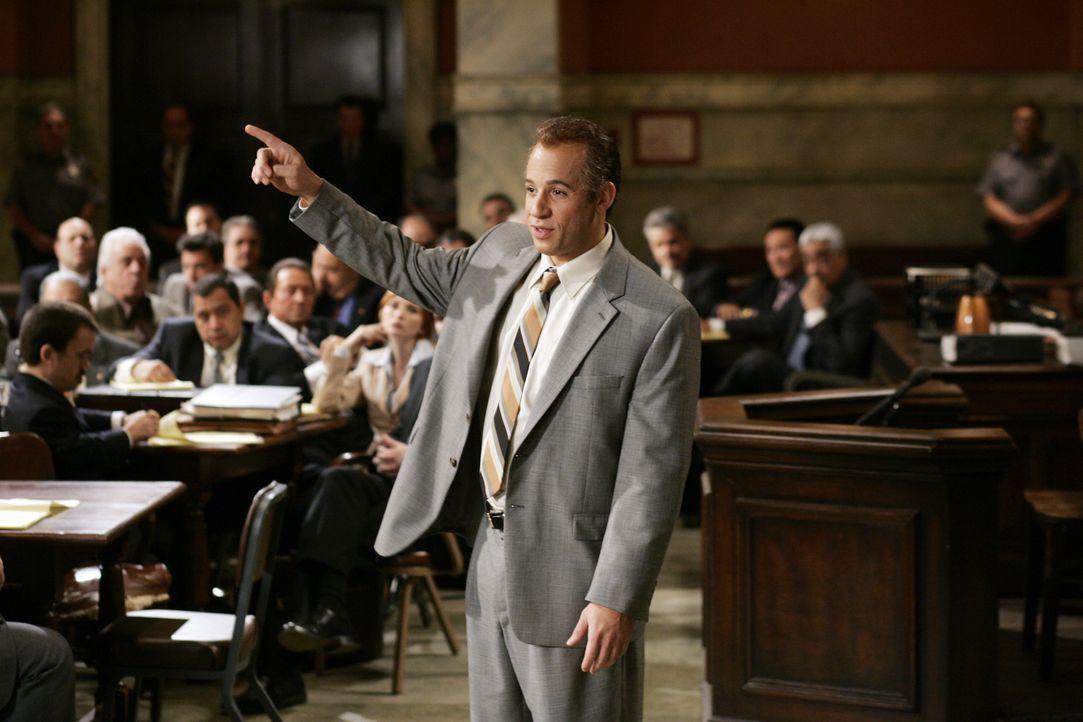 Mafiosi Jack DiNorsio (Vin Diesel) vertritt sich selbst vor Gericht. Das Motto des von ihm geführten Versuchs, mit Witz und scheinbarer Menschlichke... - Bildquelle: 2006 Yari Film Group Releasing, LLC