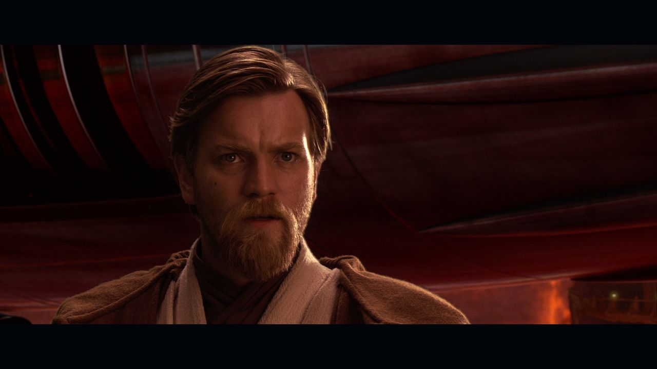 Will nicht zulassen, dass sich sein ehemaliger Schüler für die dunkle Seite der Macht entscheidet: Obi-Wan Kenobi (Ewan McGregor) ... - Bildquelle: Lucasfilm Ltd. & TM. All Rights Reserved.