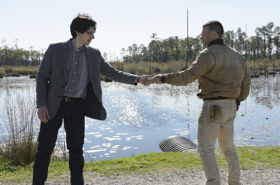 Sevier (Adam Driver, l.); Lucas (Joel Edgerton, r.) - Bildquelle: Warner Bros.