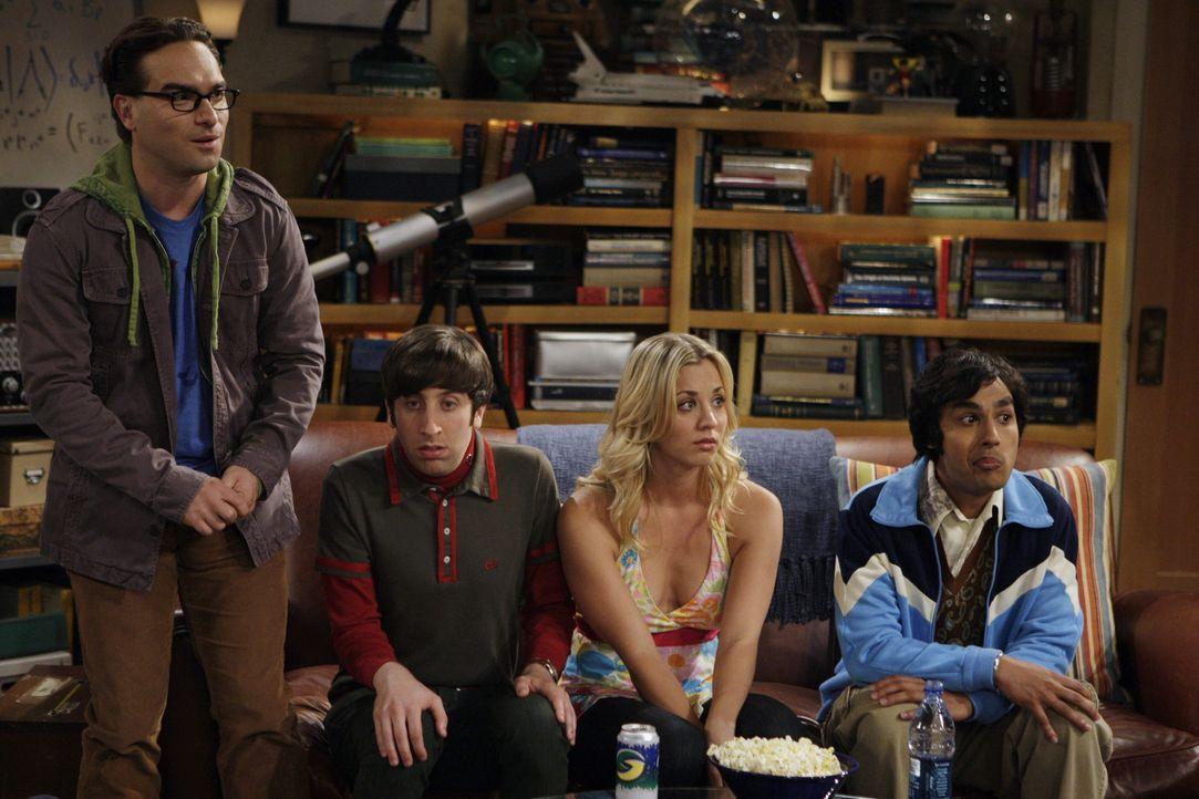 Nachdem Sheldon eine Rede vor Studenten gehalten hat, wird er von Ramona Nowitzki verfolgt. Sie möchte ihn unterstützen, damit er sich ganz auf se... - Bildquelle: Warner Bros. Television