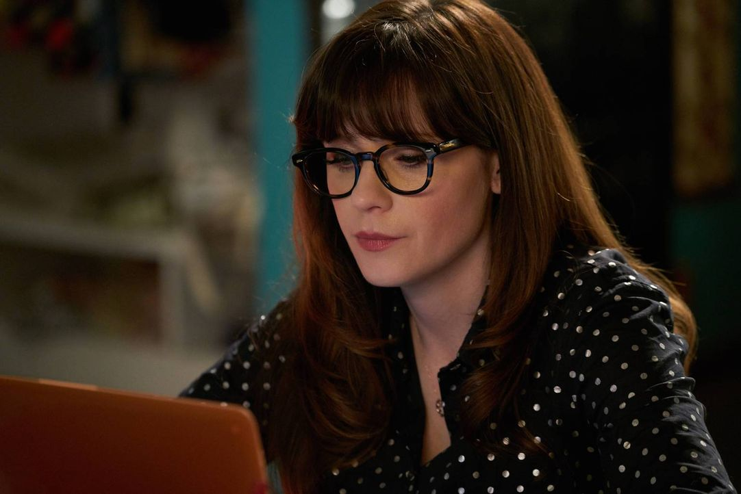 Setzt sich über ein gerichtlich verordnetes Kontaktverbot hinweg: Jess (Zooey Deschanel) ... - Bildquelle: 2016 Fox and its related entities.  All rights reserved.