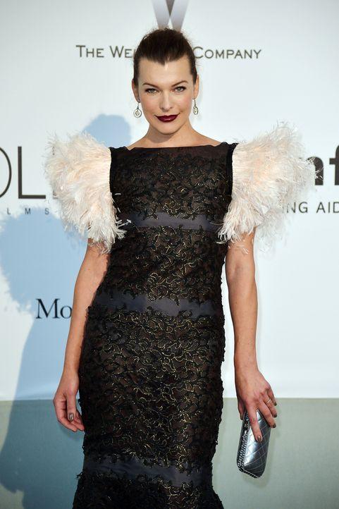 Cannes-Filmfestival-amfAR-Milla-Jovovich-140522-1-AFP - Bildquelle: AFP