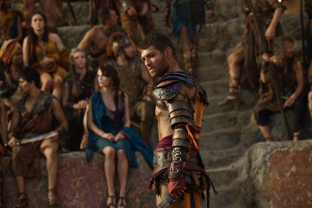 Die Rache ist mein! Spartacus (Liam McIntyre) ... - Bildquelle: 2012 Starz Entertainment, LLC. All rights reserved.