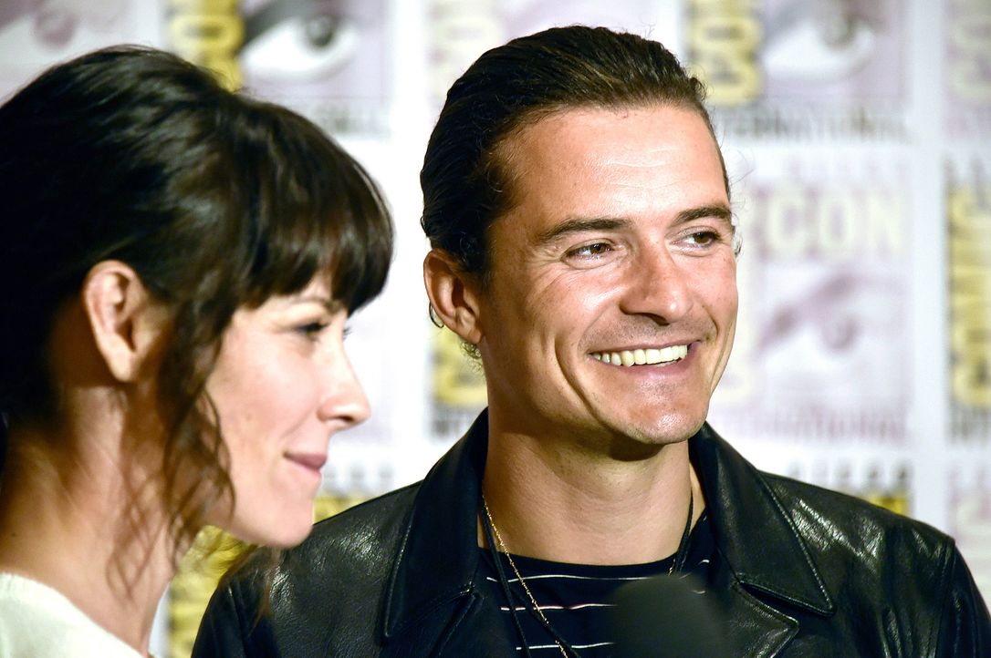 Orlando-Bloom-Evangeline-Lilly-14-07-26-AFP - Bildquelle: getty-AFP