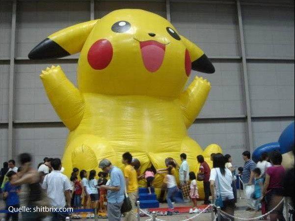Shit Bricks - Pikachu außer Rand und Band