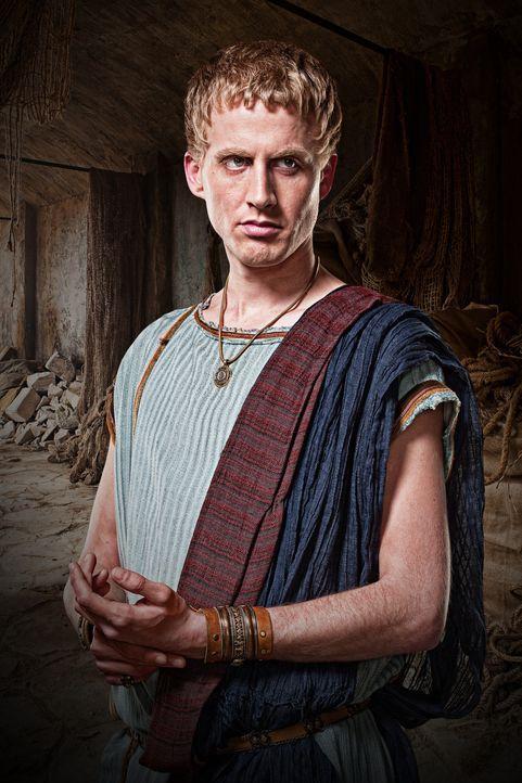 Vettius (Gareth Williams) ist Handlanger von Tullius und Besitzer einer konkurrierenden Gladiatorenschule von Batiatus ... - Bildquelle: 2010 Starz Entertainment, LLC