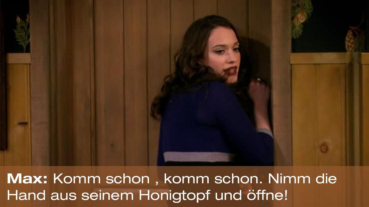 2-broke-girls-zitat-quote-staffel2-episode13-wochenende-max-honigtopf-warnerpng 1600 x 900 - Bildquelle: Warner Bros. Television