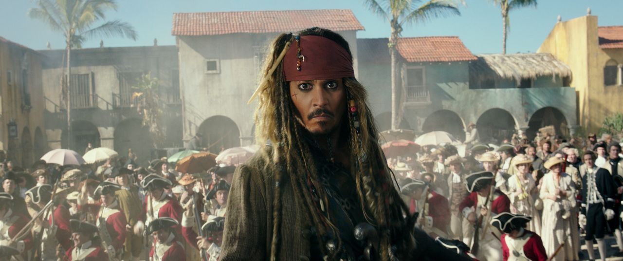 Captain Jack Sparrow (Johnny Depp) - Bildquelle: Disney Enterprises, Inc. All Rights Reserved.