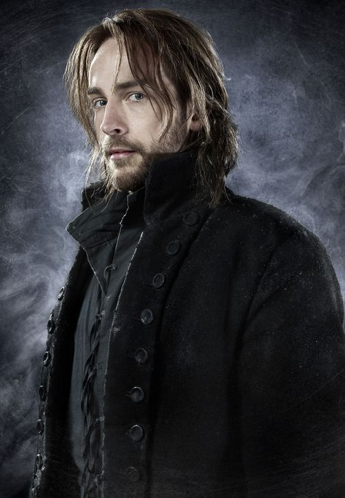 (1. Staffel) - Ichabod Crane (Tom Mison) war Captain des Amerikanischen Unabhängigkeitskrieges. Als er in der Schlacht einen Reiter enthauptet, wir... - Bildquelle: 2013 Twentieth Century Fox Film Corporation. All rights reserved.