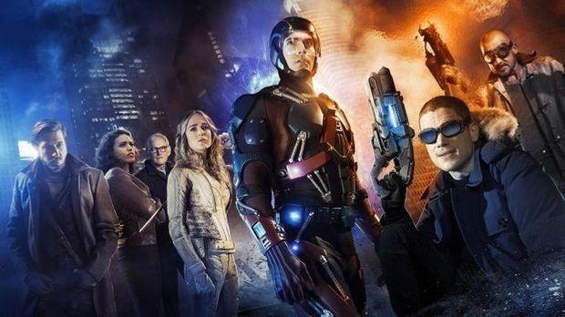 "Teaser ""Legends Of Tomorrow"" alle Superhelden"