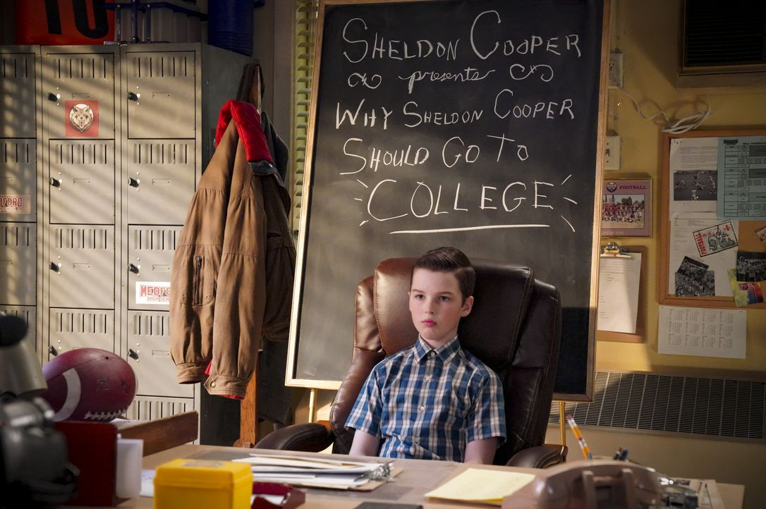 Sheldon (Iain Armitage) - Bildquelle: 2020 Warner Bros. Entertainment Inc. All Rights Reserved.