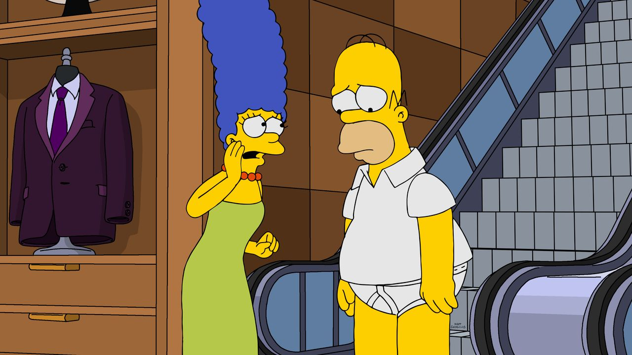 Marge (l.); Homer (r.) - Bildquelle: 2019-2020 Twentieth Century Fox Film Corporation.  All rights reserved.