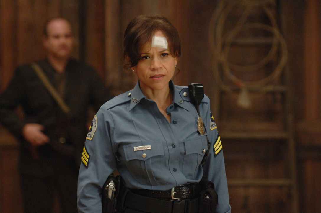 Als der ständig bekiffte Gerichtsbote Dale eines Abends zufällig Zeuge eines Mordes wird, in den eine korrupte Polizistin (Rosie Perez) und der gefä... - Bildquelle: 2008 Columbia Pictures Industries Inc. All rights reserved.