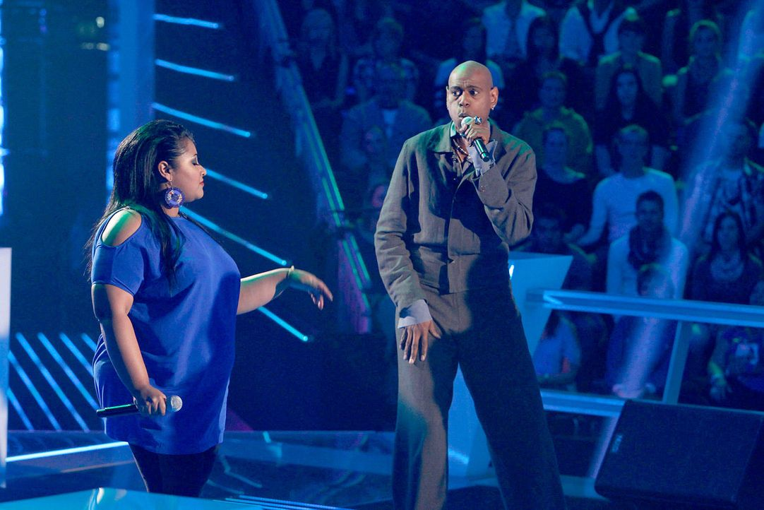 battle-michelle-vs-dennis-08-the-voice-of-germany-richard-huebnerjpg 1700 x 1134 - Bildquelle: SAT1/ProSieben/Richard Hübner