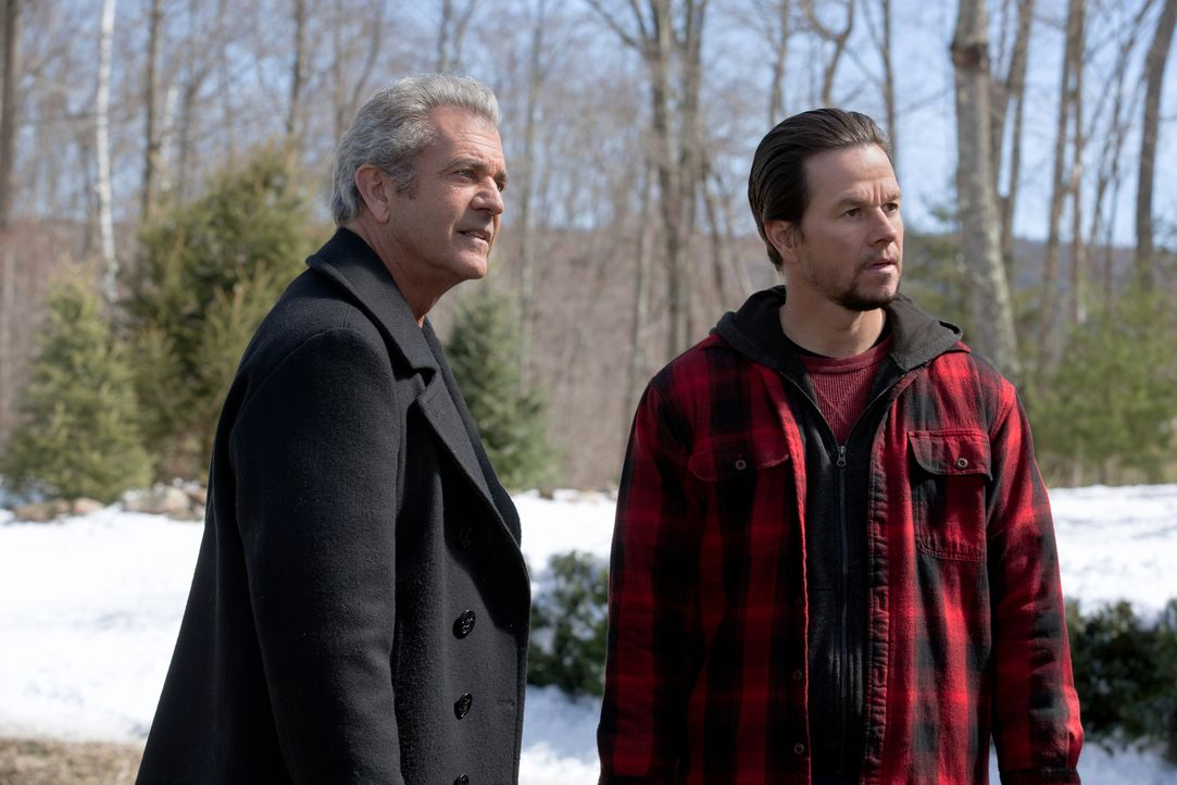 Kurt (Mel Gibson, l.); Dusty (Mark Wahlberg, r.) - Bildquelle: Claire Folger 2018 Paramount Pictures / Claire Folger