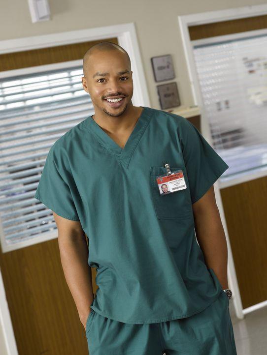 (6. Staffel) - Das Leben als Arzt bereitet ihm oft Kopfzerbrechen: Turk (Donald Faison) ... - Bildquelle: Touchstone Television