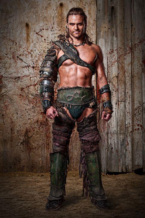 Das Haus des Batiatus erlebt einen enormen Aufschwung, als einer ihrer Gladiatoren, der berüchtigte Champion Gannicus (Dustin Clare), immer mehr K - Bildquelle: 2010 Starz Entertainment, LLC