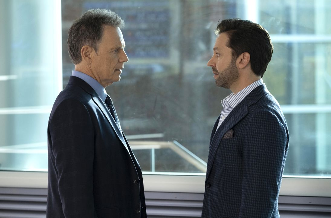 Dr. Randolph Bell (Bruce Greenwood, l.); Gordon Page (Michael Weston, r.) - Bildquelle: Steve Dietl 2018-2019 Twentieth Century Fox Film Corporation.  All rights reserved. / Steve Dietl