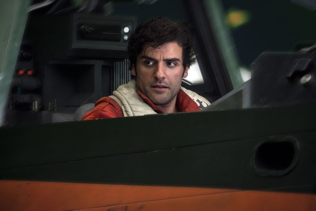Poe Dameron (Oscar Isaac) - Bildquelle: Jonathan Olley 2017 & TM Lucasfilm Ltd. / Jonathan Olley