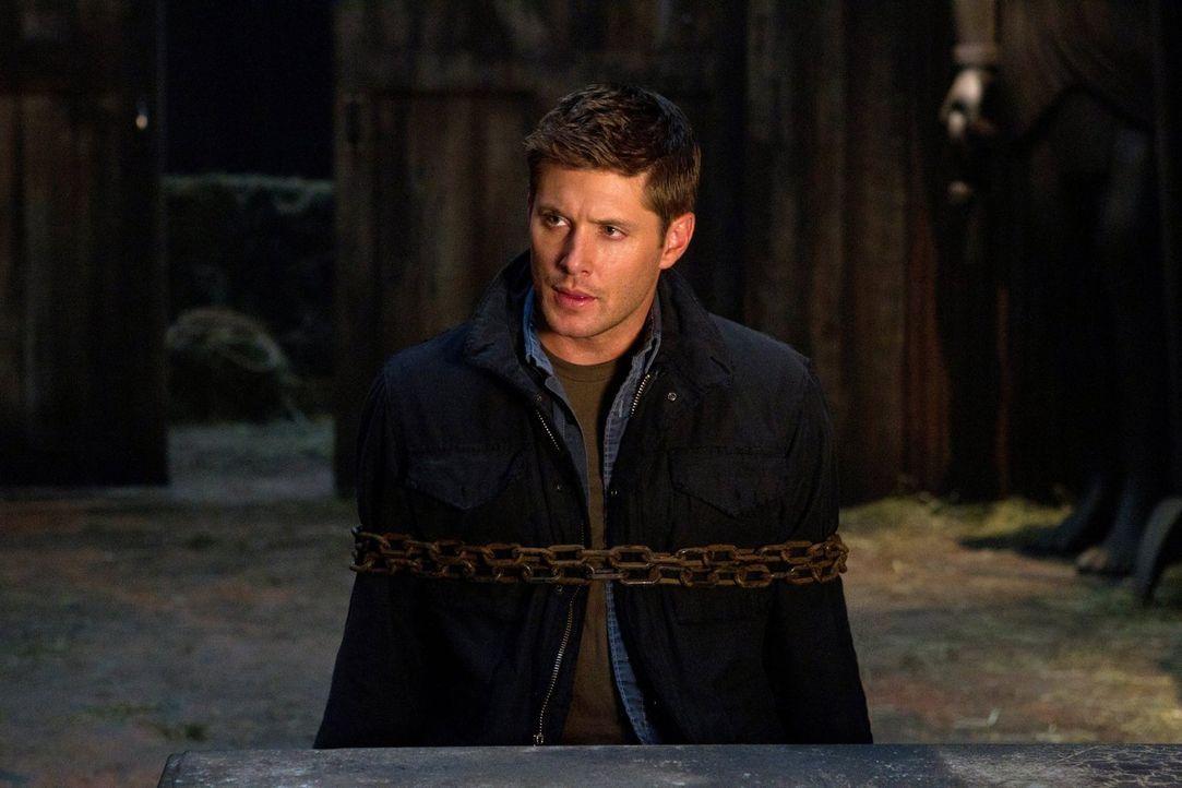 Der ägyptische Gott Osiris bestraft Menschen für ihre schlimmen Taten in der Vergangenheit. Auch Dean (Jensen Ackles) steht auf seiner Todesliste ..... - Bildquelle: Warner Bros. Television