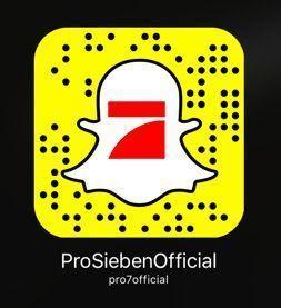 Snapchat Geist ProSieben