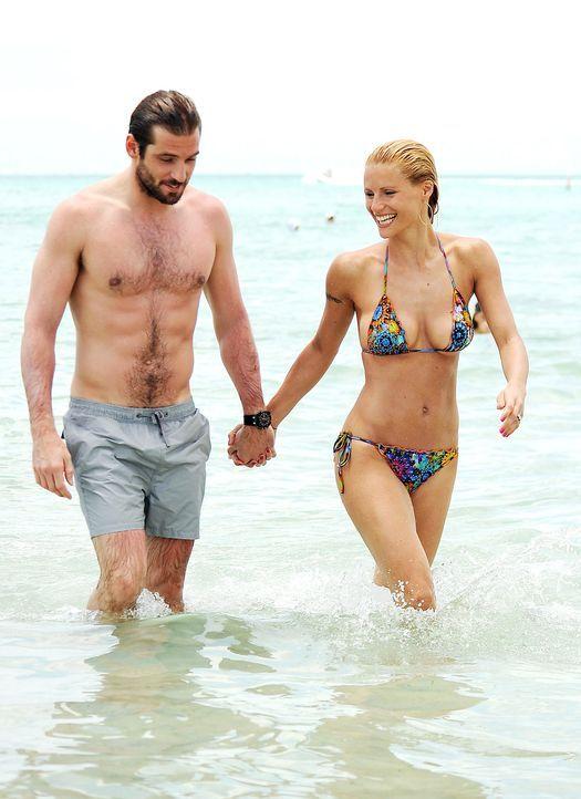 Michelle hunziker nackt strand