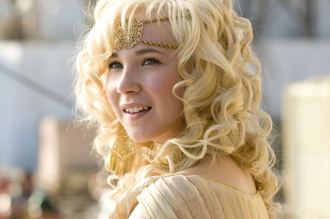Eema (Juno Temple) hat an allem Interesse, nur nicht an Oh. Doch eines Tages wird sie mitten aus der Steinzeit nach Sodom und Gomorra entführt ... - Bildquelle: 2009 Columbia Pictures Industries, Inc. All Rights Reserved.