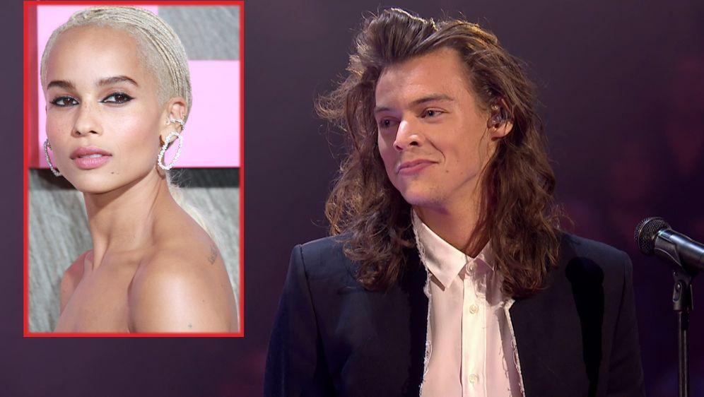 One Direction Star Harry Styles Ist Zoe Kravitz Seine Neue